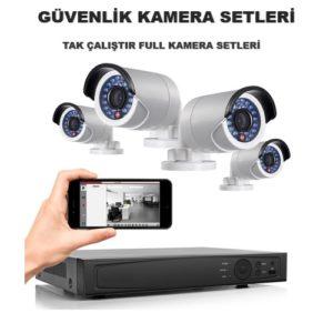 Güvenlik Kamera Setleri