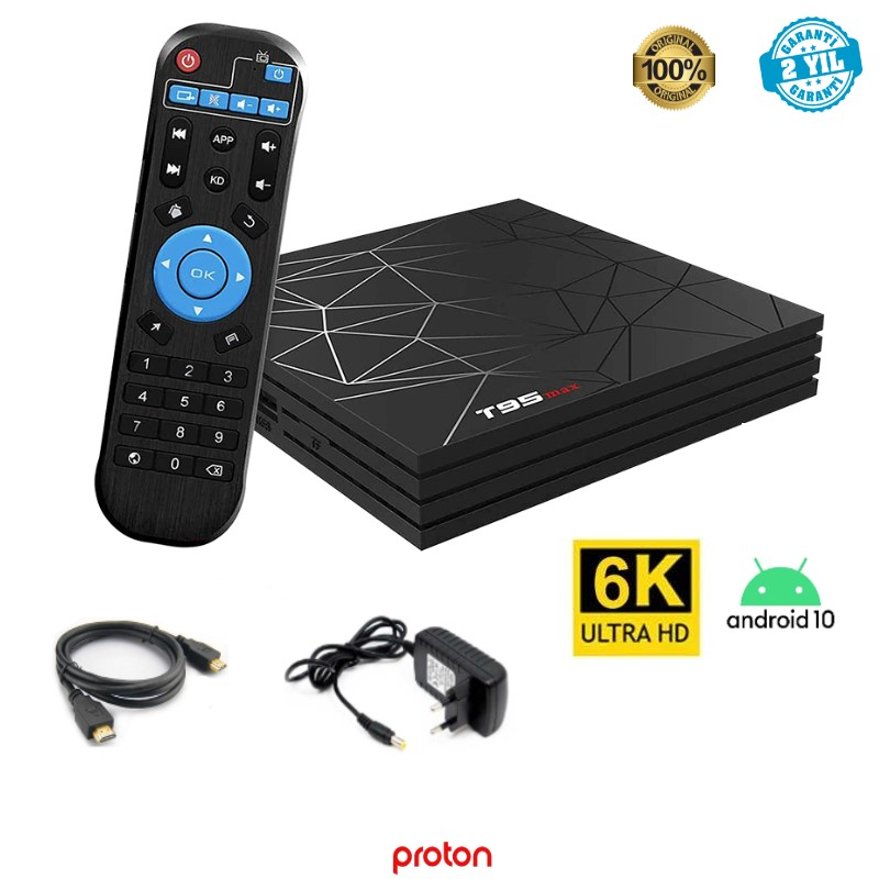MAGBOX T95 MAX TV ANDROID BOX