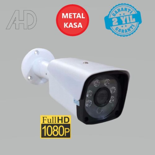 Güvenlik Kamerası Metal Kasa Ahd Full HD