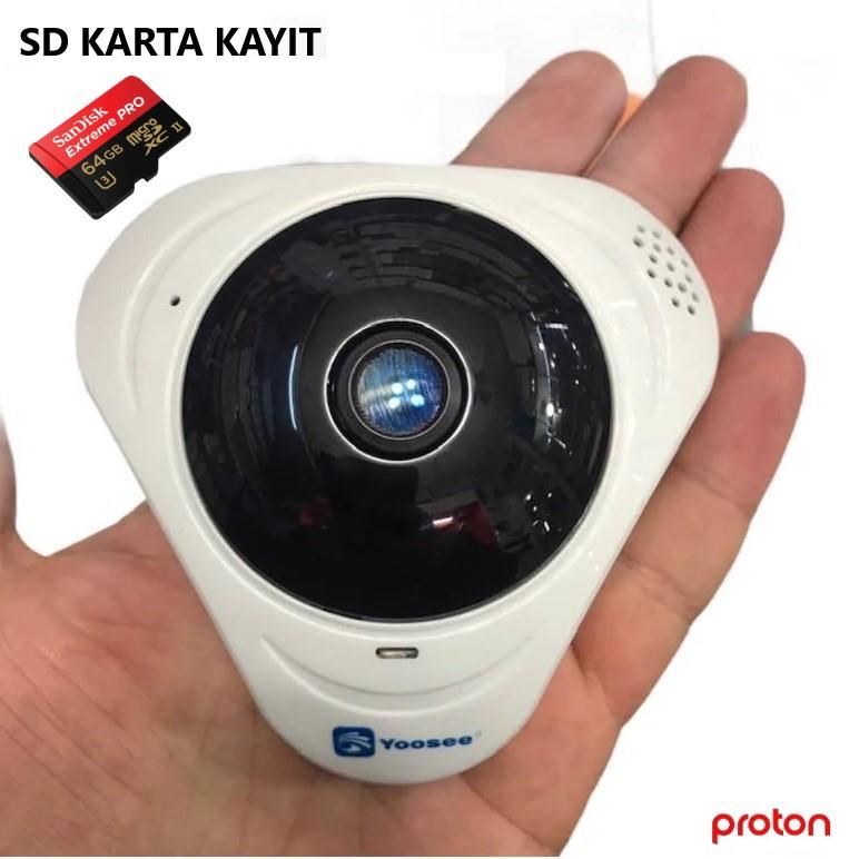 Sd Kart Güvenlik Kamerası