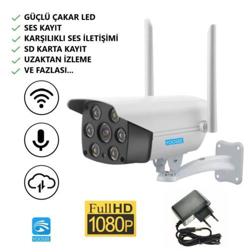 Yoosee çakarlı güvenlik kamerası